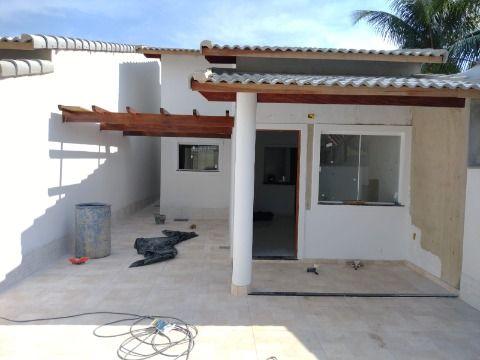 Excelente Casa 1ª locação c/ 3Qtos (1 suíte) c/ área de churrasqueira e chuveirão.