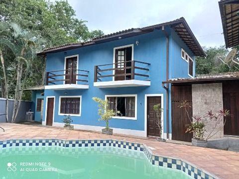 Casa Duplex 2Qtos cond. c/ piscina, sauna, churrasqueira e banheiro.