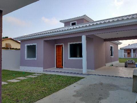 Maravilhosa casa 3 Quartos (1 suíte) com churrasqueira no Jd. Atlântico Itaipuaçu.