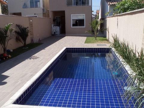 Excelente duplex com 3 Qtos (2 suítes) com churrasqueira e piscina no Jd. Atlântico prox. a praia.