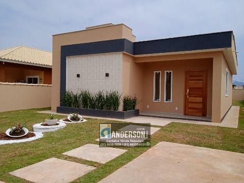 Excelente Casa no Jd. Atlântico c/ 3Qtos (sendo 1 suíte), área gourmet c/ churrasqueira e chuveirão.