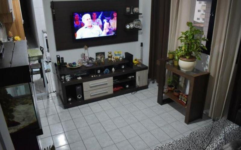 Apartamento Praia Grande, Bairro Guilhermina, 02 dormitórios