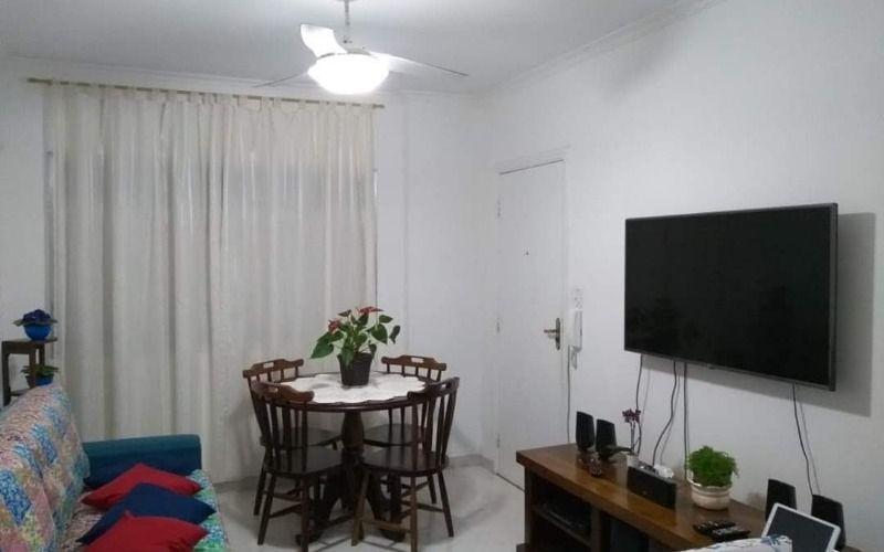 Apartamento Praia Grande, Bairro Guilhermina sendo 02 dormitórios