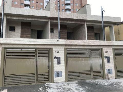 Sobrados GEMINADOS E INDEPENDENTES de 03 dormitórios, áreas úteis entre 111 m² a 125 m²,