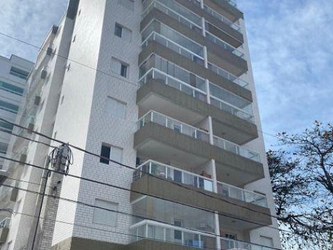 Apartamento Praia Grande - Vila Mirim - sendo 01 dormitório, mobiliado, 100 metros da praia