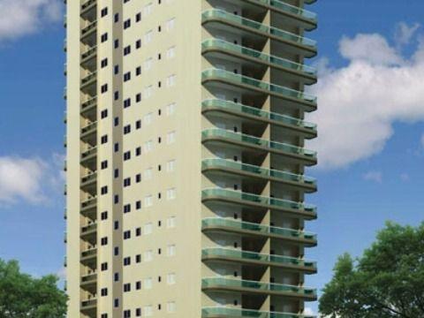Apartamento em Praia Grande, Campo da Aviação, 3 dormitórios.