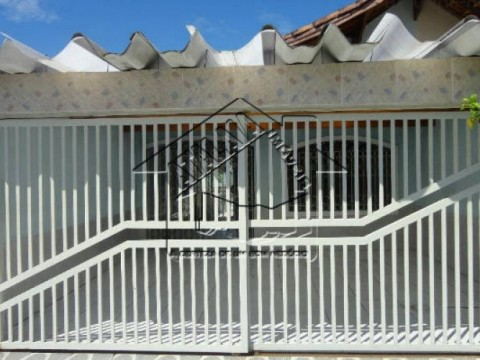 Linda Casa geminada na Vila Caiçara em Praia Grande