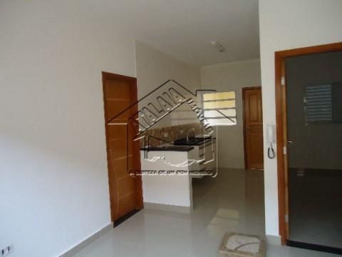 Casas novas em condominio na Praia Grande - Vila Mirim -aceita financiamento