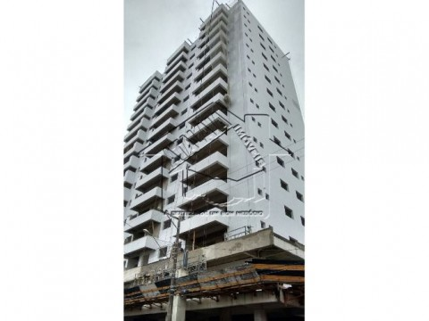 Apartamento em Praia Grande - Vila Caiçara com 2 suites