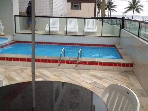 Apartamento 2 dormitórios com suíte na Vila Tupi em Praia Grande aceita financiamento