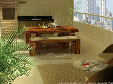 Apartamento 02 dormitórios no Caiçara em Praia Grande!
