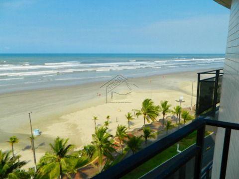 Apartamento 3 dormitórios vista mar no Flórida em Praia Grande aceita financiamento direto