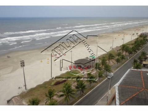 Apartamento na Praia Grande 3 Dormitórios em frente a Praia no Caiçara!