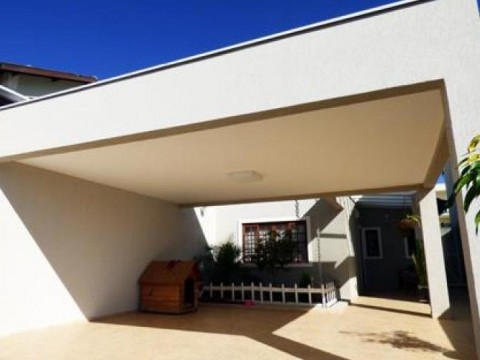Casa  residencial à venda, Jardim Santa Bárbara, Atibaia.