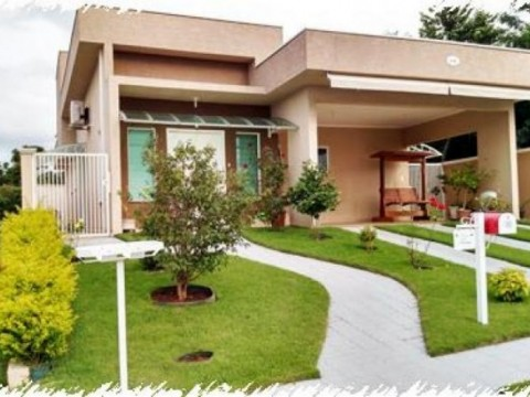 Casa  residencial à venda, Condomínio Terras de Atibaia I, Atibaia.