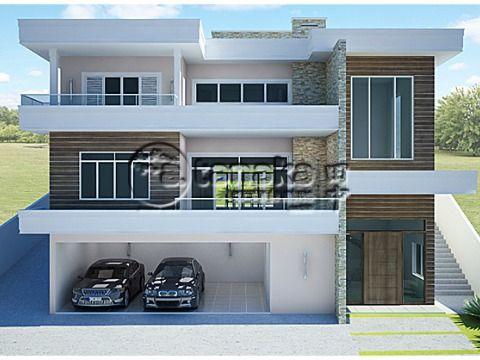 Terreno no Residencial Porto de Atibaia, com projeto aprovado para construção de 450m², e projeto de cálculo estrutural.