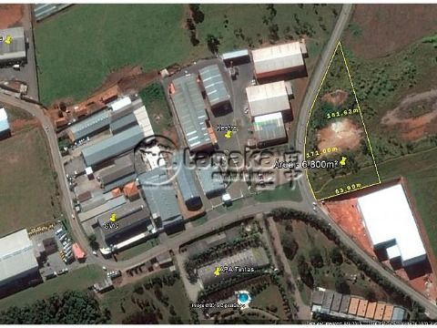Excelente área localizada em distrito industrial.