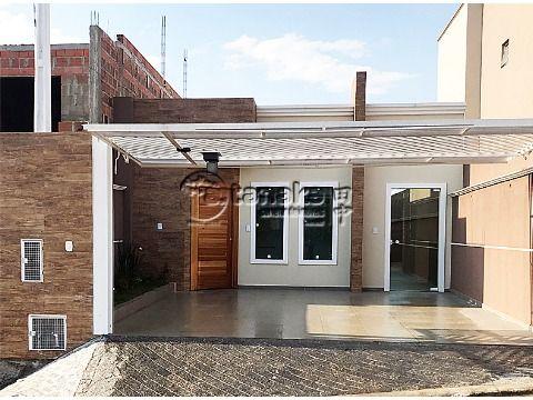 Casa térrea nova no bairro Nova Atibaia (Nova Cerejeiras).
