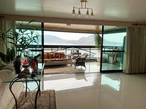 Lindo apartamento por andar no Inga, vista para o mar, 3 quartos (1 Master), 2 vagas