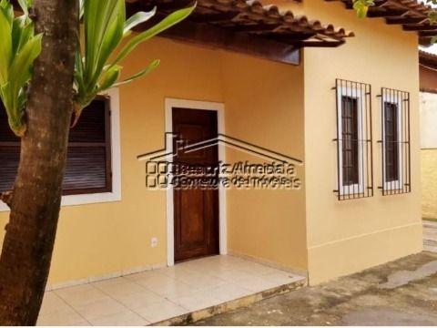 Casa no Barroco, 2 qts, sala, cozinha, banheiro, garagem coberta