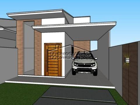 Casa de 2 e 3 qts (1 suite), conceito aberto, cozinha com ilha, piscina, área gourmet