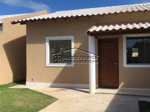 Casa de 2 qts (1 suite) no Barroco, sala rebaixada em gesso, cozinha, área gourmet