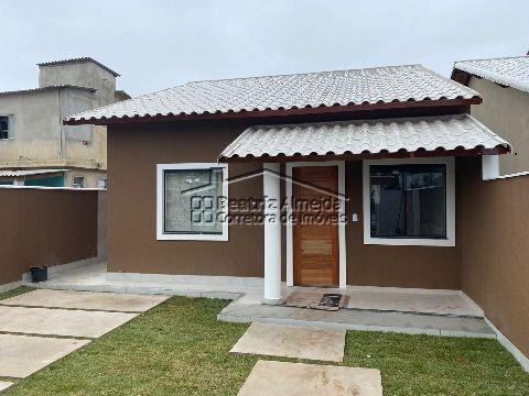 Casa de 2 qts (1 suite) na rua 9 São Bento da Lagoa, sala, cozinha, área gourmet