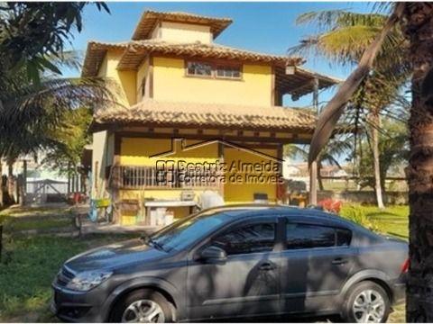 Casa Duplex na Praia do Foguete, 3 qts (1 suite), sala, escritorio, quintal