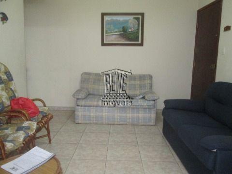 Apartamento 1 dormitório - Guilhermina, Praia Grande