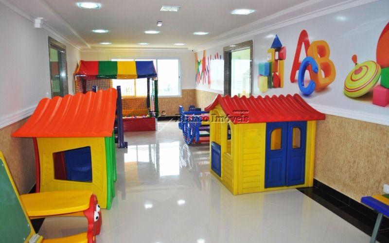 Lindíssimo apartamento 03 dormitorios, 2 vagas na Vila Caiçara, Praia Grande, prontinho pra morar