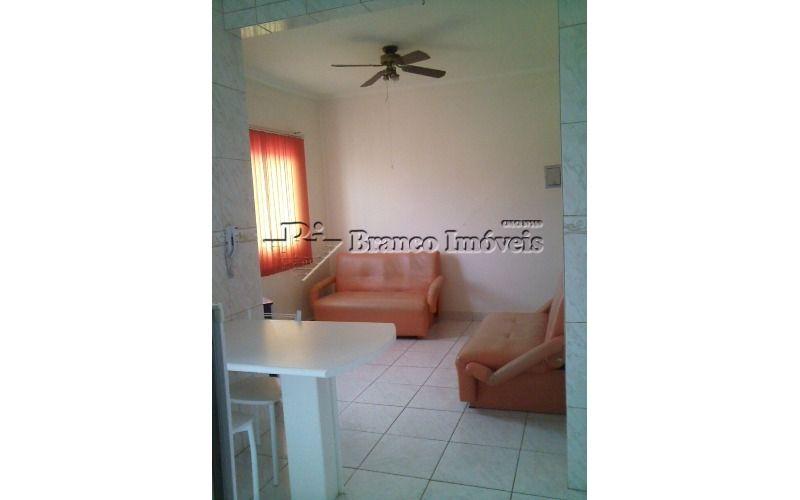 Apartamento 01 dormitório na Vila Caiçara com garagem