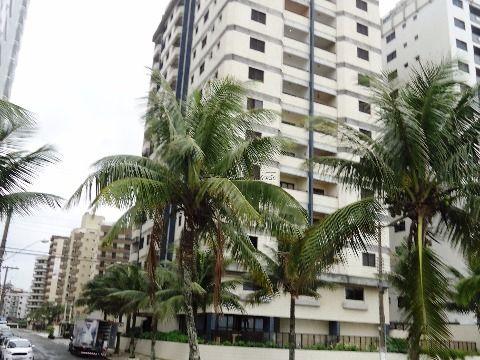 Excelente apartamento com vista para o mar na Vila Caiçara, Praia Grande/SP