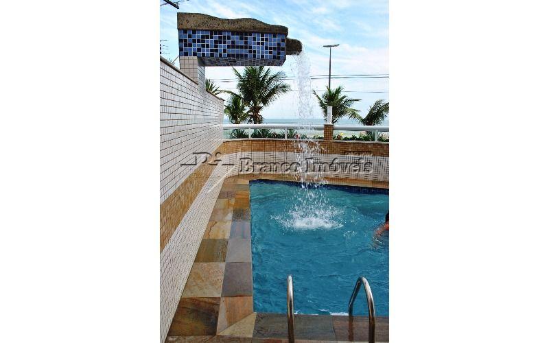 Lindíssimo apartamento com 3 suites frente para o mar, na Vila Caiçara em Praia Grande