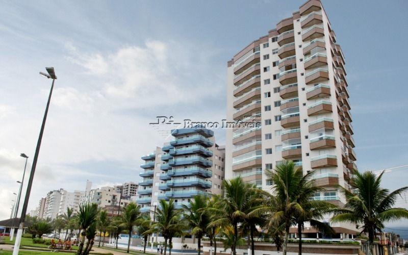 Lindo apartamento 2 dormitórios, frente mar no Caiçara em Praia Grande
