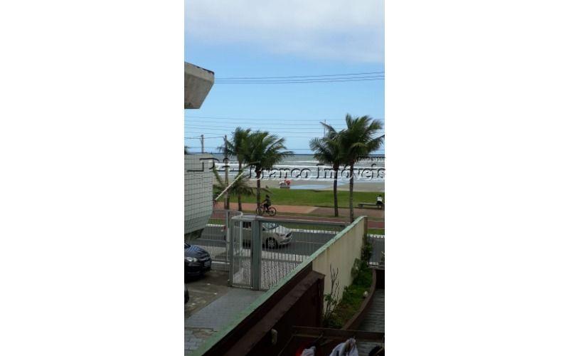 Apartamento 1 dormitorio com vista para o mar em Vila Caiçara, Praia Grande