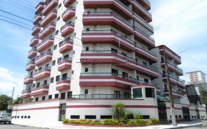 Apartamento 1 dormitório com sacada no centrão da Vila Caiçara a sua espera,