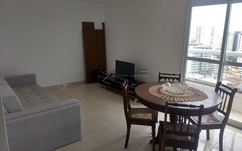 Excelente apartamento 1 dormitório, no coração da Vila Caiçara em Praia Grande