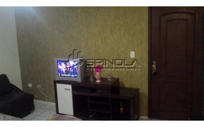 Apartamento de 1 dormitório na Vila Caiçara - Praia Grande