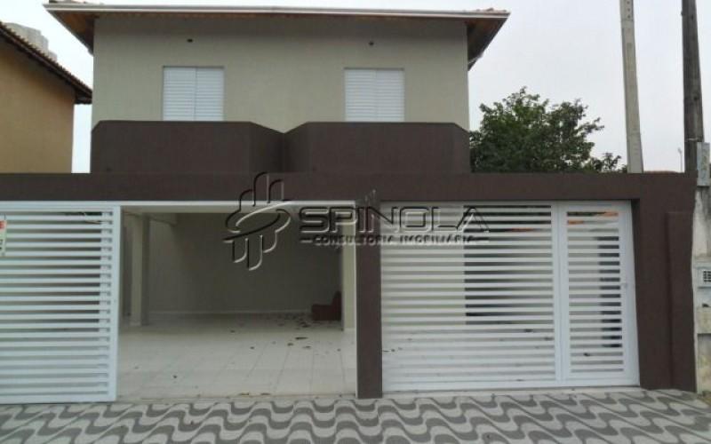 Casa em condomínio de 2 dormitórios à venda na Vila Mirim - Praia Grande