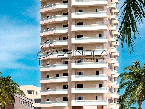 Apartamento no Balneário Maracaña, Praia Grande