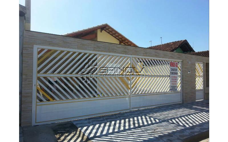 Casa de condominio 1 dormitório em Praia Grande - Vila Mirim