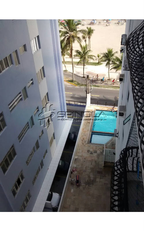 Vista varanda - piscina
