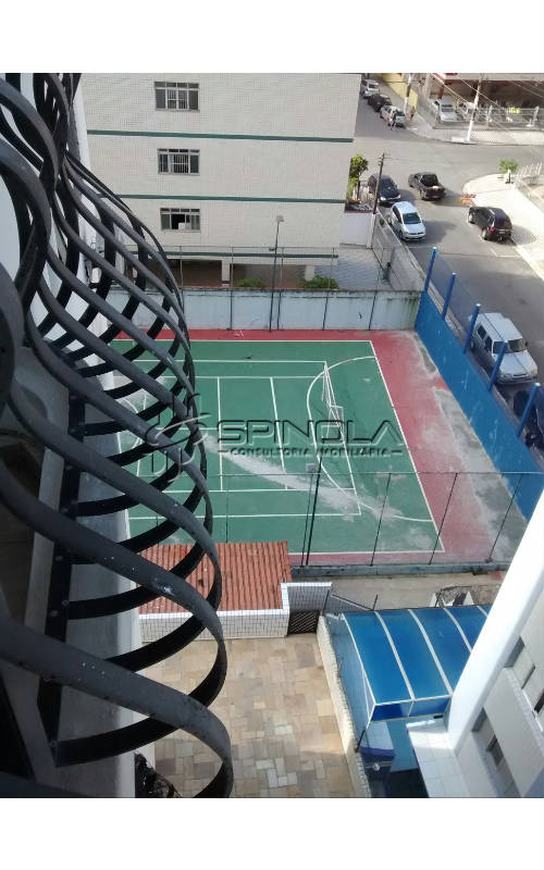 Vista varanda - quadra