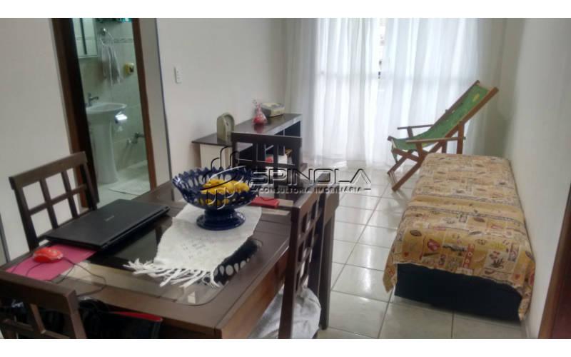 Apartamento de 1 dormitório na Praia Grande - Canto do Forte