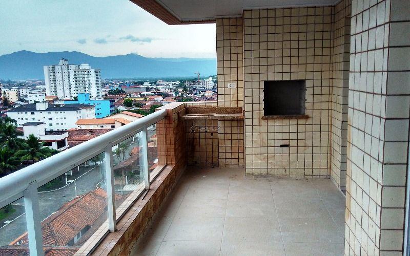 Apartamento com 2 suítes na Vila Guilhermina - Praia Grande