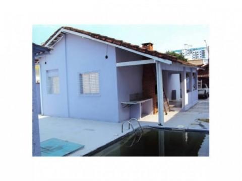 Casa em Praia Grande na Guilhermina - 2 dormitórios