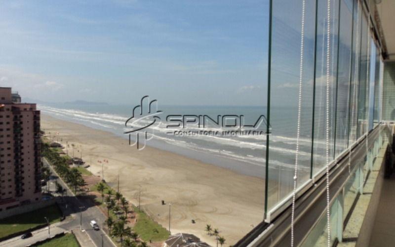 Apartamento mobiliado à venda com 2 dormitórios na Vila Caiçara - Praia Grande