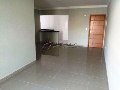 Apartamento à venda de 3 dormitórios com suíte no Campo da Aviação - Praia Grande