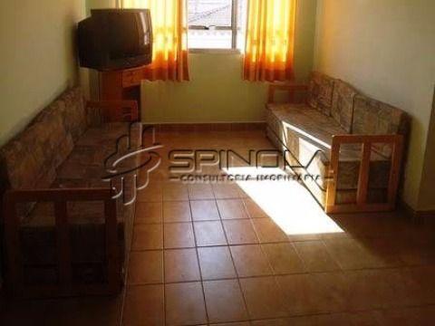Apartamento mobiliado à venda de 1 dormitório com 51m² na Vila Caiçara - Praia Grande