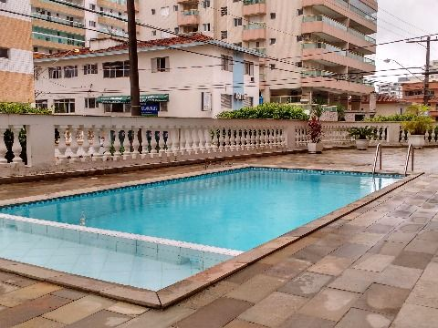 Apartamento de 1 dormitório à venda na Vila Tupi - Praia Grande